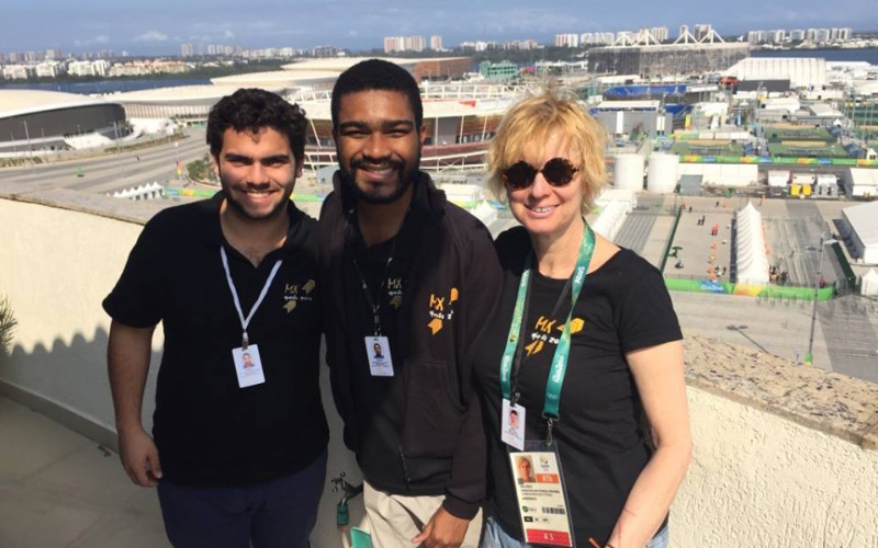 Part of the MX Sports team - Rio 2016