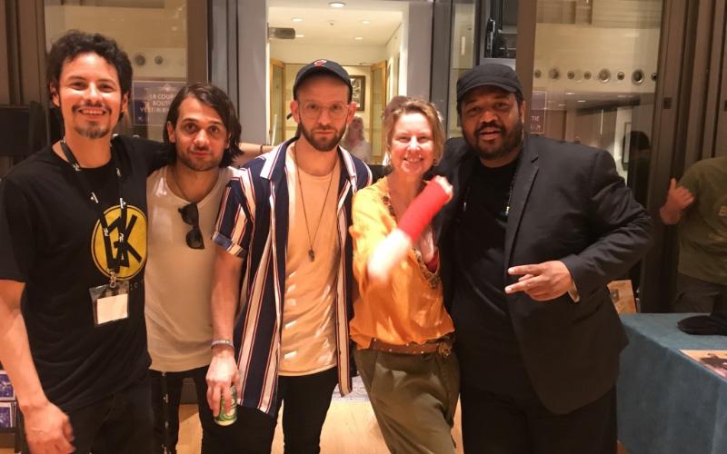 Μs Xenou with Roosvelt Collier and his band - Montreaux Jazz Festival 2018